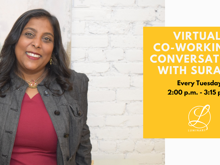 Virtual Co-Working & Conversations with Surabhi