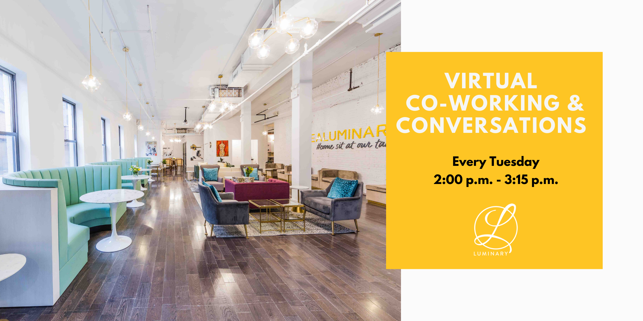 Virtual Co-Working & Conversations